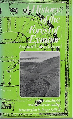 Image for A History of the Forest of Exmoor    [Richard Fitter's copy]