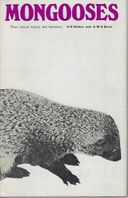 Image for Mongooses - Their Natural History and Behaviour    [Richard Fitter's copy]