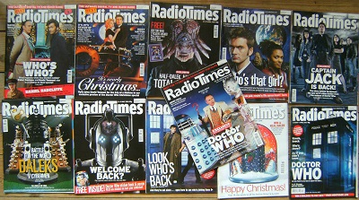 Image for A Large Collection of 43 Radio Times,  all with Doctor Who covers and articles
