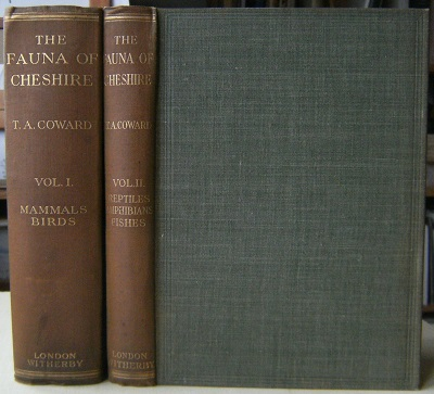 Image for The Vertebrate Fauna of Cheshire and Liverpool Bay - Two volumes    [Richard Fitter's copy]