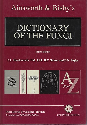 Image for Ainsworth & Bisby's Dictionary of the Fungi