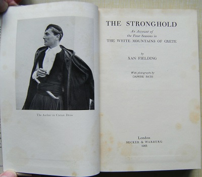 Image for The Stronghold - an account of the four seasons in the White Mountains of Crete