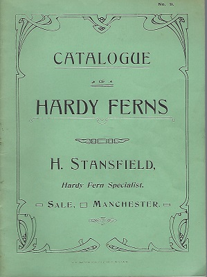 Image for Catalogue of Hardy Ferns (number 9)