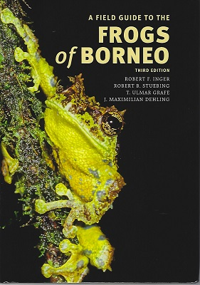 Image for A Field Guide to the Frogs of Borneo (Third edition)