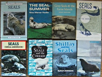Image for Seals. A collection of 8 books: Shillay and the Seals. The World of the Walrus. The Seals and the Curragh.Grey Seals and the Farne Islands. The Seal Summer. The Natural History of Seals. Seals of the World
