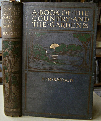 Image for A Book of the Country and the Garden
