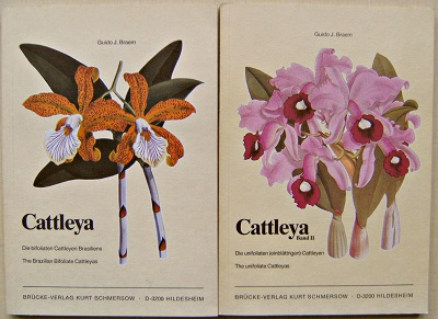 Image for Cattleya - The Brazilian Bifoliate Cattleyas (Die bifoliaten Cattleyen Brasiliens)  2 volumes