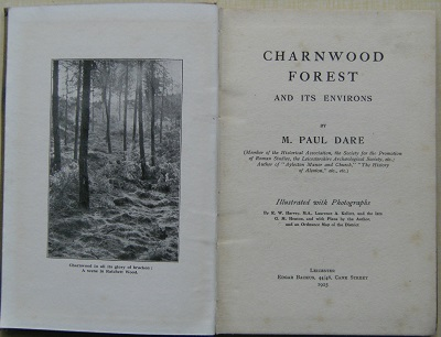 Image for Charnwood Forest and its Environs    [Richard Fitter's copy]