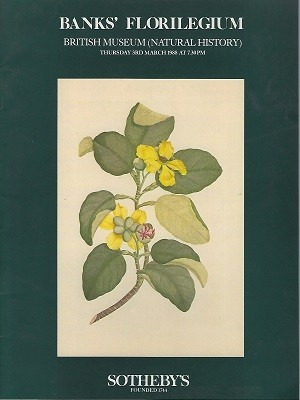 Image for Banks' Floriligium - A Sale of One Hundred and Twenty prints for the benefit of the Banks Alecto Endeavour Fellowship to be administered by the Royal Society in conjunction with the British Museum (Natural History)  [Fred Whitsey's copy]