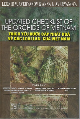 Image for Updated Checklist pf the Orchids of Vietnam