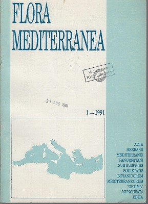 Image for Flora Mediterranea  Volume 1. [Journal published by Herbarium Mediterraneum Panormitanum]