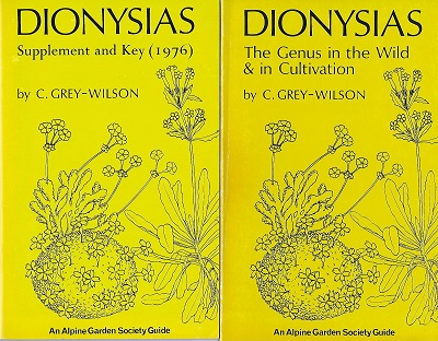 Image for Dionysias - the genus in the wild and in cultivation. [Together with-] Supplement and Key
