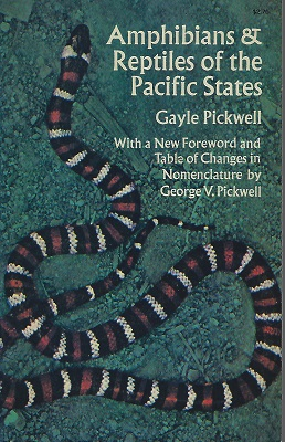 Image for Amphibians and Reptiles of the Pacific States