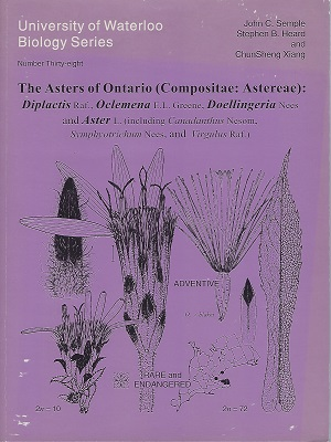 Image for The Asters of Ontario (Asteraceae): Diplactis, Oclomena, Doellingeria and Aster