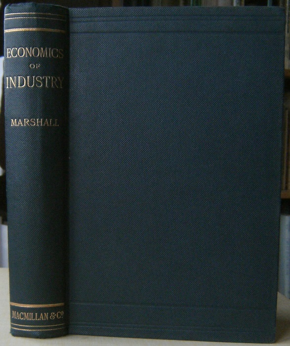 Image for Elements of Economics of Industry, being the first volume of  Elements of Economics