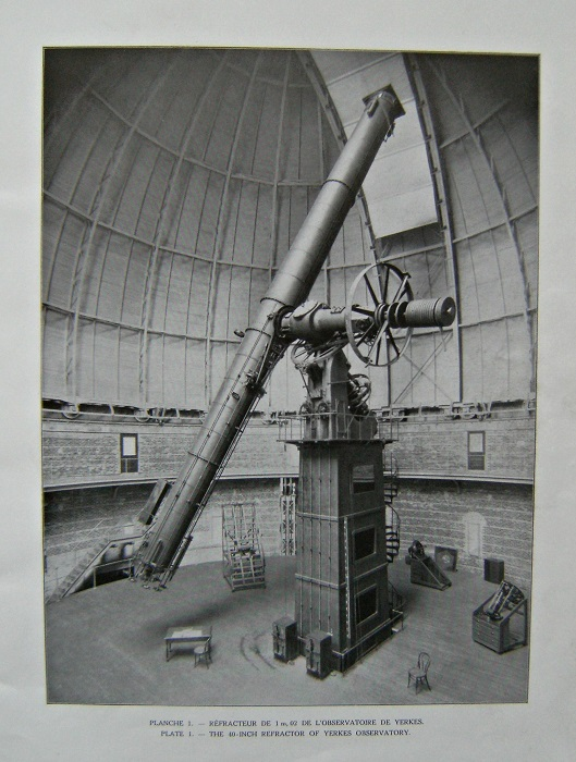 Image for L'évolution de l'astrophotographie et les grands téléscopes de l'avenir. The development of astro-photography and the great telescopes of the future