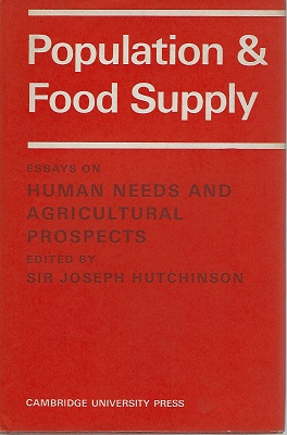 Image for Population and Food Supply - essays on human needs and agricultural prospects