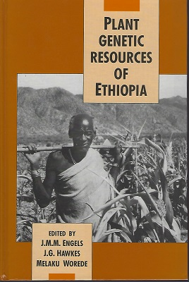 Image for PLANT GENETIC RESOURCES IN ETHIOPIA (Jack Hawkes' copy]