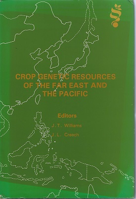 Image for Crop Genetic resources of the Far East and the Pacific (Jack Hawkes' copy)