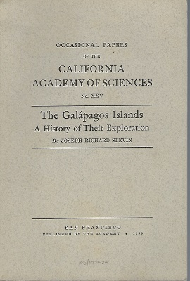 Image for The Galapagos Islands - A History of Their Exploration