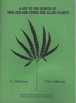 Image for A Key to the Genera of New Zealand Ferns and Allied Plants