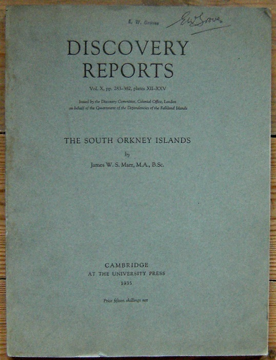 Image for The South Orkney Islands (Discovery Reports Vol. X,