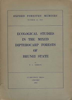 Image for Ecological Studies in the Mixed Dipterocarp Forests of Brunei State [Frank White's copy]