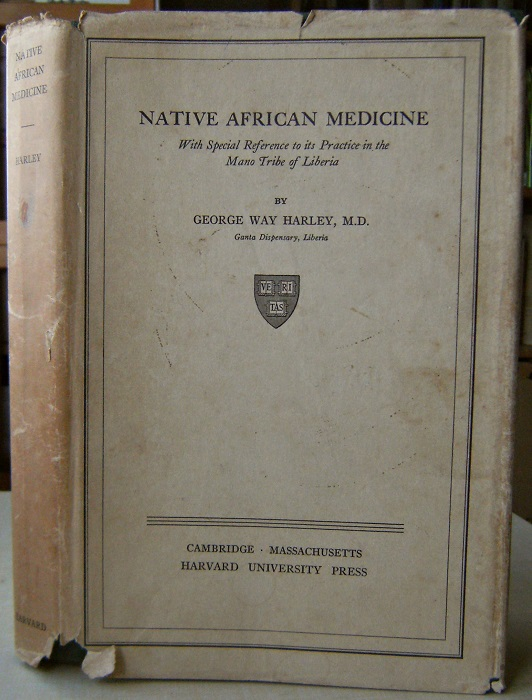Image for Native African Medicine, with special reference to its practice in the Mano Tribe of Liberia