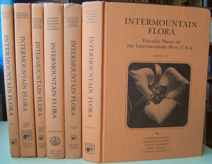 Image for Intermountain Flora - Vascular Plants of the Intermountain West, U.S.A. - Volumes  1, 3A, 3B, 4, 5 & 6. (lacking Volume 2)