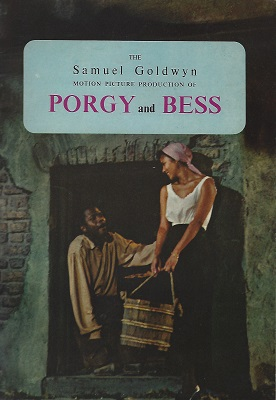 Image for The Samuel Goldwyn Motion Picture Production of Porgy and Bess (Souvenir Programme)
