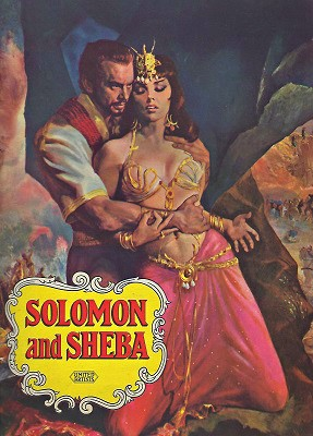Image for Solomon and Sheba (King Vidor Production) - Souvenir programme