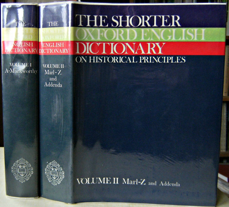 Image for The Shorter Oxford English Dictionary on Historical Principles (Third edition)