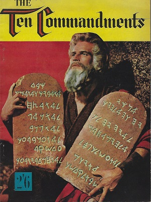 Image for The Ten Commandments (Souvenir brochure ?)