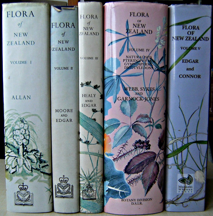 Image for Flora of New Zealand, Volumes 1, 2, 3, 4 & 5