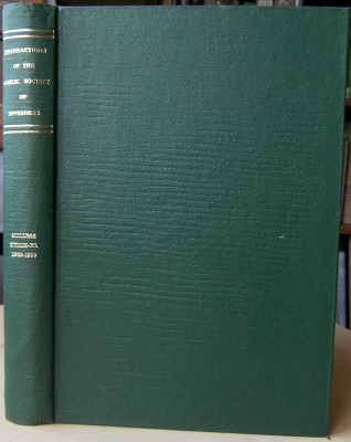 Image for Transactions of the Gaelic Society of Inverness [Comunn Gaidhlig Inbhir-nis] Volume XXXIX/XL (1942-1950)