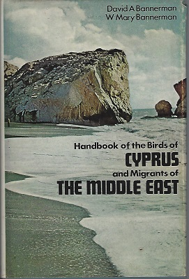 Image for Handbook of the Birds of Cyprus and Migrants of the Middle East