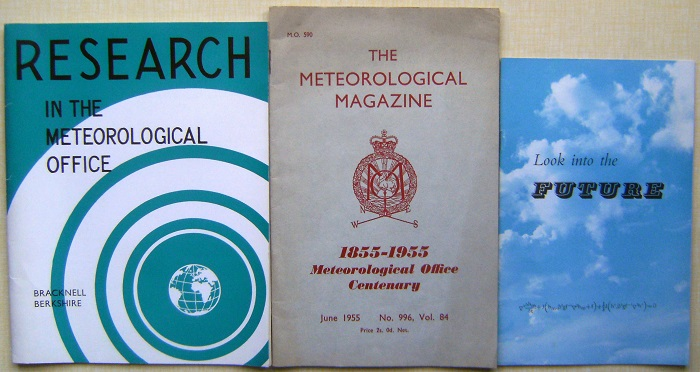 Image for Meteorological Office History - three booklets