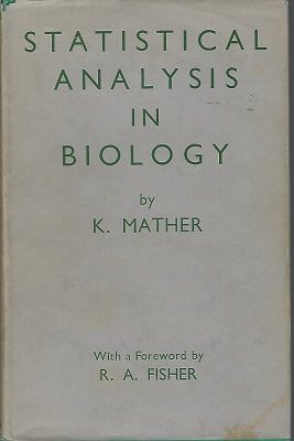 Image for Statistical Analysis in Biology (Peter Moore's copy)