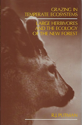Image for Grazing in Temperate Ecosystems: Large Herbivores and the Ecology of the New Forest [Peter Moore's copy]