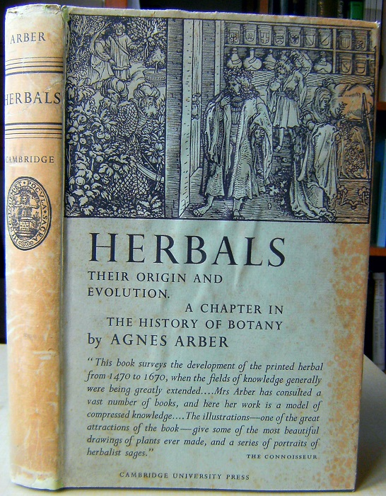 Image for Herbals, Their Origin and Evolution : A Chapter in the History of Botany [Signed by author)