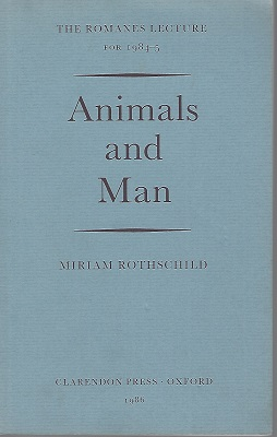 Image for Animals and Man. The Romanes Lecture for 1984-5, delivered in Oxford on 5 February 1985