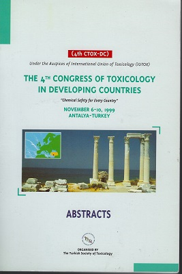 Image for The 4th Congress of Toxicology in Developing Countries, November 6-10, 1999, Antalya - Turkey. ABSTRACTS. [4th CTOX-DC]