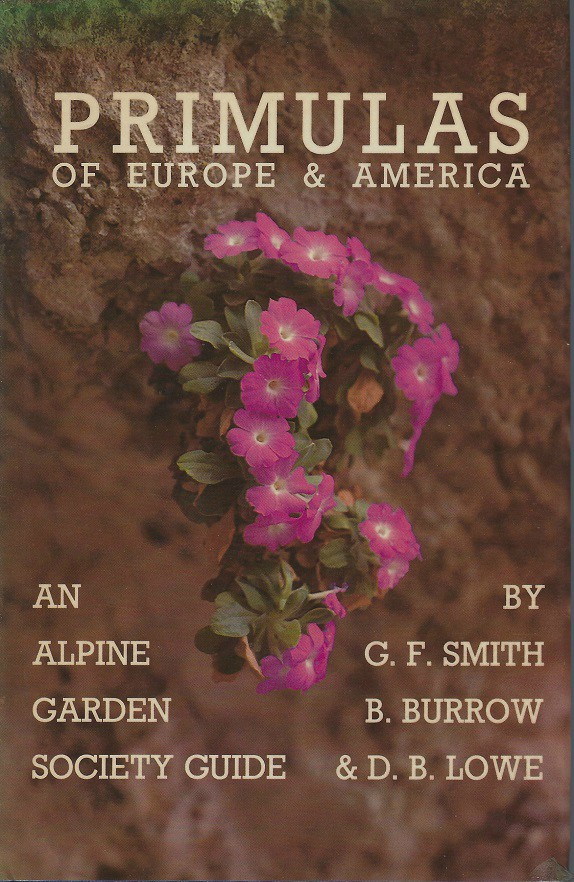 Image for Primulas of Europe and America  [David McClintock's copy]