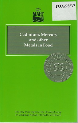 Image for Cadmium, Mercury and Other Metals in Food