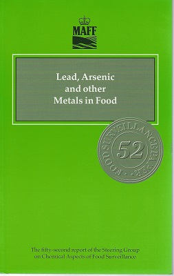 Image for Lead, Arsenic and Other Metals in Food