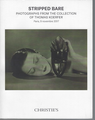Image for Stripped Bare, Photographs from the Collection of Thomas Koerfer. Paris, 9 Novembre 2017