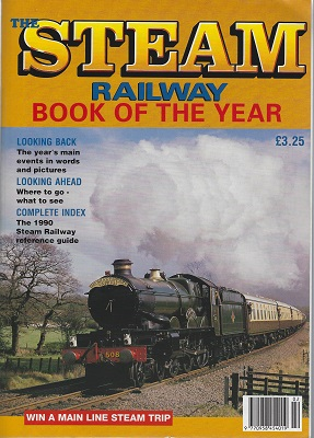 Image for The Steam Railway Book of the Year 1991
