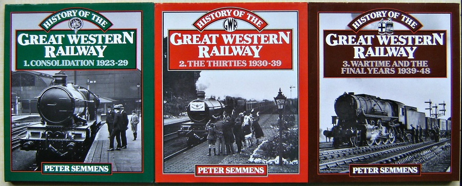 Image for History of the Great Western Railway. Volumes 1, 2 and 3.