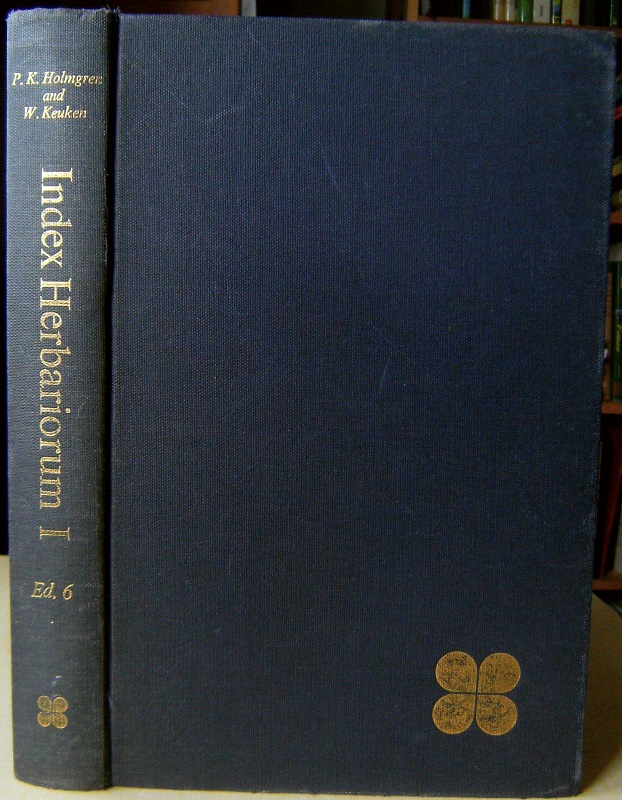 Image for Index Herbariorum Part 1: The Herbaria of the World  [Nigel Hepper's copy.]