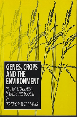Image for Genes, Crops and the Environment (Peter Moore's copy)